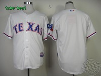 Baseball Texas Rangers #Blank White Jersey New Brand Embroidery logos,Mix order, Jersey cheap for sale