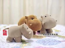 Stuffed animal 20cm hippo plush toy soft doll gift w1791(China (Mainland))