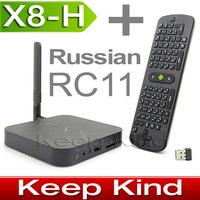 (Russian Measy RC11 Airmouse Included) MINIX NEO X8-H X8H Android Smart TV Box Quad Core 2GB 16GB 4K XBMC MINI PC
