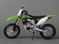 Alloy 1:12 Limited edition Kawasaki KX 450F Motorcycle models