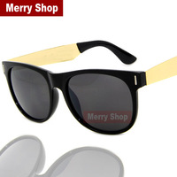2014 New Arrival Fashion Men Brand Designer Sunglasses Rivet Men Gold Metal Legs Punk Rock Sunglasses High quality