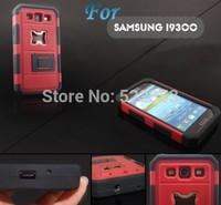 For Samsung Galaxy S3 i9300 Shockproof Anti-knock Rugged Hybrid Beer Bottle Opener Slide Hard Case with Stand