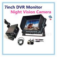 Reverse Camera Kit for Heavy Duty, with 7inch DVR Monitor and 540TVL Camera