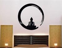 Custom Made 55*55cm Buddha Home stickers Decals Art Wall decor Mural Vinyl Religion SG108 New