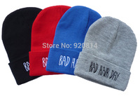 Exo knitted hat bad hair day beanie hat hiphop hat snow cap winter hat