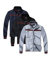 Free shipping 2014 new men's zipper jacket lapel fashion hit color men jackets coat jaqueta masculina Slim brand jackets for men