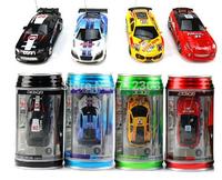 96pcs Mini-Racer Remote Control Car Coke Can Mini RC Radio Remote Control Micro Racing Car DHL Shipping!!!