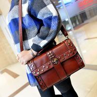 2014 New women handbags fashion brief shoulder bags women messenger bags women leather handbags leather bags