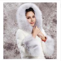 Tops fur coat women New 2014 imitation mink luxury design stripe long overcoat outerwear winter women jacket Fur & Faux Fur