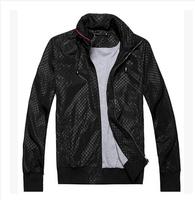 Free shipping 2014 new men's G home zip collar jacket Dongkuan G brand men's fashion jacket MAN JACKET