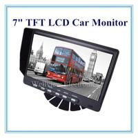 """Motorhomes,Car,Van,Truck Rear View Monitor 7"""" TFT LCD Car Monitor"""