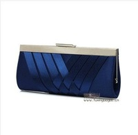 New Silk Women's Handbag. Simple Wild Weave Party Clutch Bridal Pouch. Messenger Chain Evening Bag Multicolor Free Shipping