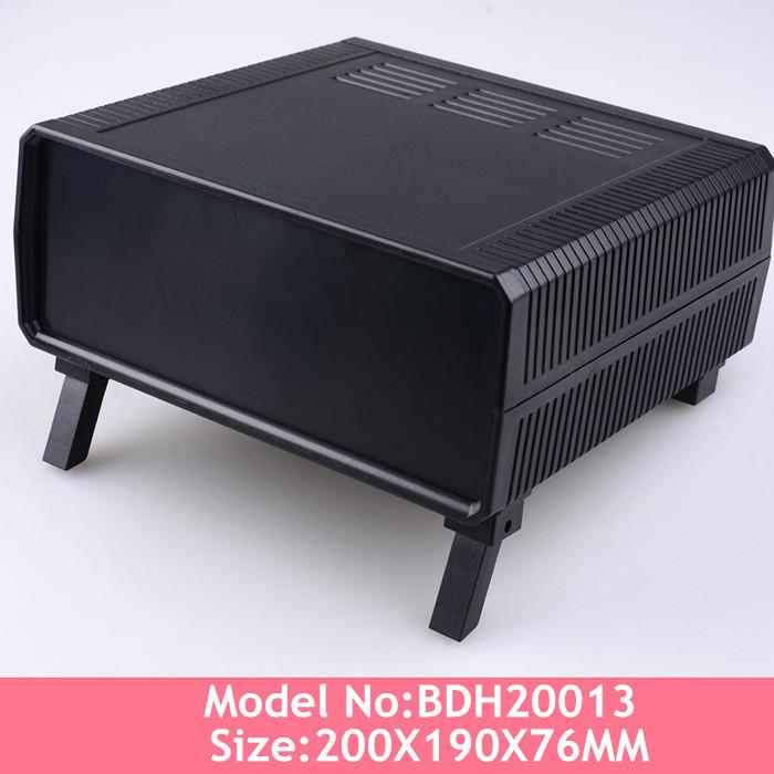 Instrument control box abs quality plastic enclosure desktop instrument box 200*190*76mm(China (Mainland))