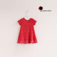 New Children Clothing Girls Summer Lace Cotton Dress Children Dress