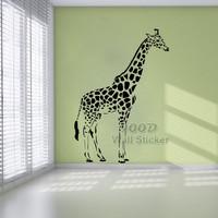 Big Giraffe wall sticker. DIY home decoration Removable Wall decor ,Wall Art Decals DQ14025