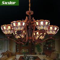 LED Exelon Trinity chandelier Classic lamp European restaurant/living room lighting chandeliers fixtures Free shipping