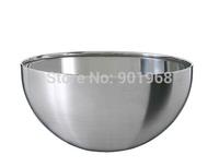 High quality kitchen bowl stainless steel 18/8 muti-function salad bowl fruit bowl kitchen bowl mix bowl-Dia24xH11cm