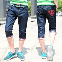 retro denim men true short calca cal bermuda designer jeans masculina brand skinny pantalones hombre homme male vetement shorts