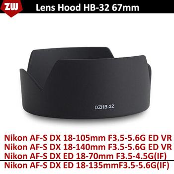 Новое камера бленда HB-32 ABS + PC материал лотоса форма калибра 67 мм бленда для ...