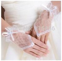 2014 The bride married gloves design short gloves lace short design hot-selling gloves wedding accessories sst23#