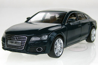 Free shipping New 1:32 AUDI A7 Alloy Diecast Vehicle Car Model Toy Collection With Sound and Light Dark Green B2218