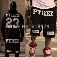2014 new fashion street pyrex 23 shorts men hip hop skateboard pants swag plus size S-XXXXL XXXXXL