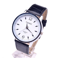HOT Sell Waterproof Quartz Business Men's Watches/Men's Leather Strap Sports Watches