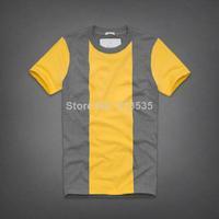 men t shirt Men's Fashion Short Sleeve Tee brand Stripe T Shirts, Good Quality, Retail,  Wholesale, Free Shipping 2