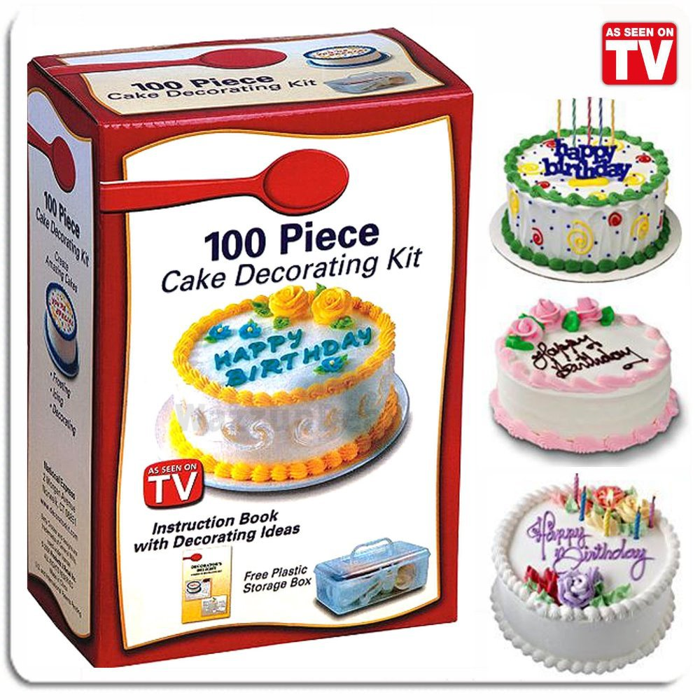 Free Cake Decorating Kit : Aliexpress.com : Buy BETTY CROCKER 100 PIECE CAKE ...