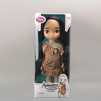 "Free Shipping Animators Collection Princess Pocahontas Doll PVC Action Figure Girls Dolls Toys Gifts 16""40CM DSFG113"