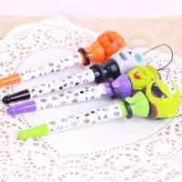 Halloween Bounce pen gift / Christmas props strange new creative ballpoint pens