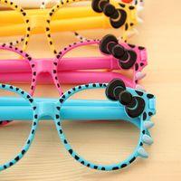 new 2014 Korea creative cartoon pens glasses ballpoint pen children cute pens