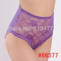 XXL XXXL XXXXL big size!multi-color Sexy cozy comfortable modal seamless lace Briefs  thongs Underwear panties  women 6pcs 86577