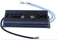 IP67 12V120W Waterproof electronic LED Power Supply/ Led Adapter Lighting Transformer