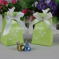 2014 new diamond ring Korean candy box love birds wedding supplies birthday gift bags candy box packaging