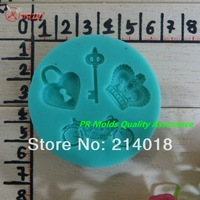 Crown motorcycle keys modelling fondant Cake decoration mold High-quality chocolate mold Jelly pudding mold NO.:Si317