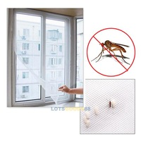 LS Practical 200cmx 150cm DIY Flyscreen Curtain Insect Fly Mosquito Bug Window Mesh Screen