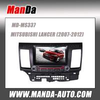 In dash car dvd For Mitsubishi Lancer 2007-2012 gps navi support Rockford and original AMP