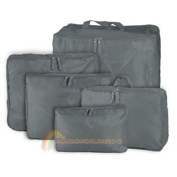R1b1 5 в 1 дорожная сумка для хранения дешевый путешествие организатор сумка серый дорожные сумки