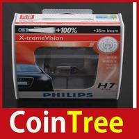 cointree 2 x Diamond Vision X-treme Vision Halogen Headlamp H7 12V 55W 35m Bulbs Worldwide free shipping