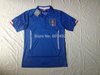 hot sale!! 2014 world cup italy home jerseys fan versions emboridered italian #9 balotelli,#21 pirlo,