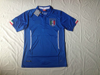 hot sale!! 2014 world cup italy home jerseys fan versions emboridered italian #9 balotelli,#21 pirlo,