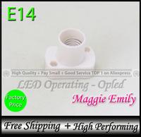 E14 Socket holder for E14 led bulb lamp holder lamp socket fitting - 10pcs 5.99USD per lot free shipping