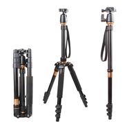Traveling Light Portable Camera Tripod Monopod & Ball Head Carry Bag For DSLR SLR Photo
