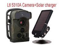 Ltl Acorn 5310A 940nm black flash 12MP Scouting Camera 720P infrared Hunting Game Camera with Solar charger Free Shipping