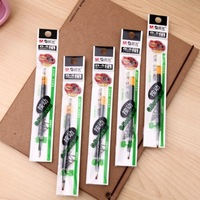 BF010 New Stationery All the needle bold neutral pen for core 0.5 black ink gel pens 11cm Free shipping