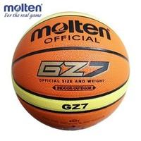 Indoor / Outdoor Basketball Hydroscopic molten  hydroscopic PU plastic basketball gz7