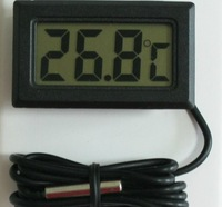 LCD Fridge Freezer Temperature Indicator Digital Thermometer temperature Sensor for Aquarium Freeze Fridge Warehouse