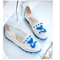 New 2014 spring and summer Brand Fashion Designer Women Flats Shoes Casual soft comfortable mesh Flats Sandals Girls Shoes
