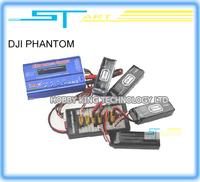 DJI PHANTOM B6 Digital RC Lipo Battery Balance Charger plate 6 battery + AC POWER Adapter Fast Shipping
